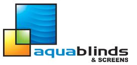 Aqua Blinds and Screens Logo